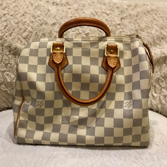 91d2c1f13fd3 Louis Vuitton Handbags - Pre-Owned Louis Vuitton Speedy Damier Azur 25
